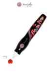Stylo comestible Fraise : Un stylo saveur fraise fabriqué par la marque espagnole Secret Play pour vos jeux érotiques.