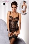 Guêpière Marcelle : Guêpière romantique, harmonie de tulle et dentelle pour une lingerie délicate et féminine.
